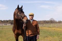 18-04-2021: Paardensport: Albert Voorn: Sevenum Albert Voorn
