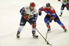 15-01-2020: IJshockey: Unis Flyers v Nijmegen Devils: EindhovenFinal Icehockey cup L-R Levi Houkes, Nijmegen Devils and Lars den Edel, Unis Flyers