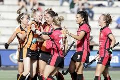 13-10-2019: Hockey: Vrouwen Oranje Rood v Hurley: EindhovenLivera Hoofdklasse2-0 door Fiona Morgenstern van Oranje-Rood