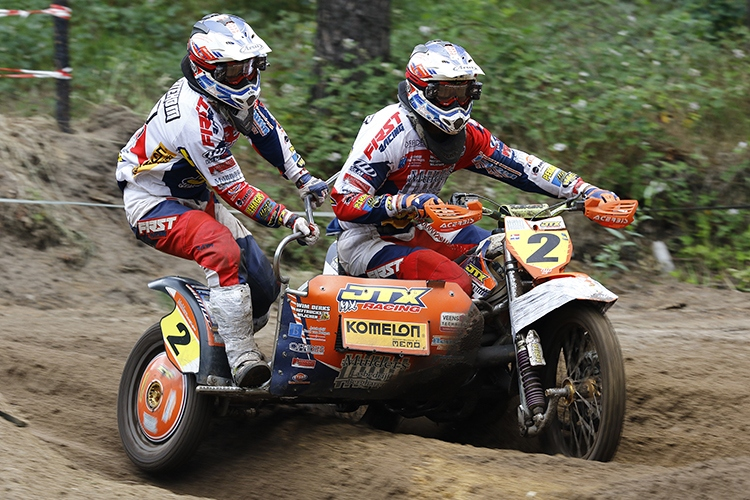04-06-2017: Motorsport: Motorcross: StevensbeekNK zijspan Radiocircuit stevensbeek 04-06-2107Photographer: Perry vd LeuvertOrange Pictures