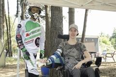 09-06-2019: Motorsport: Ruben van de Laar: StevensbeekMotorcrosser Ruben van de Laar