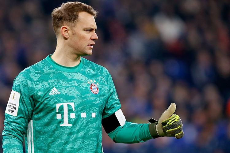03-03-2020: Voetbal: FC Schalke 04 - Bayern Munchen: GelsenkirchenBundesliga L-R: goalkeeper Manuel Neuer of FC Bayern München