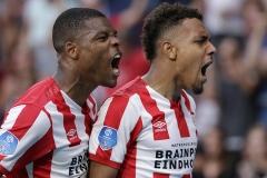 22-09-2019: Voetbal: PSV v Ajax: EindhovenEredivisie seizoen 2019-20201-1 Donyell Malen of PSV Eindhoven